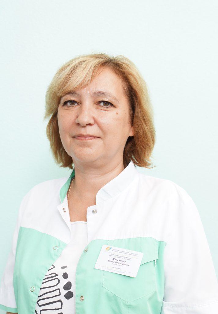 Михайлова Елена Алексеевна