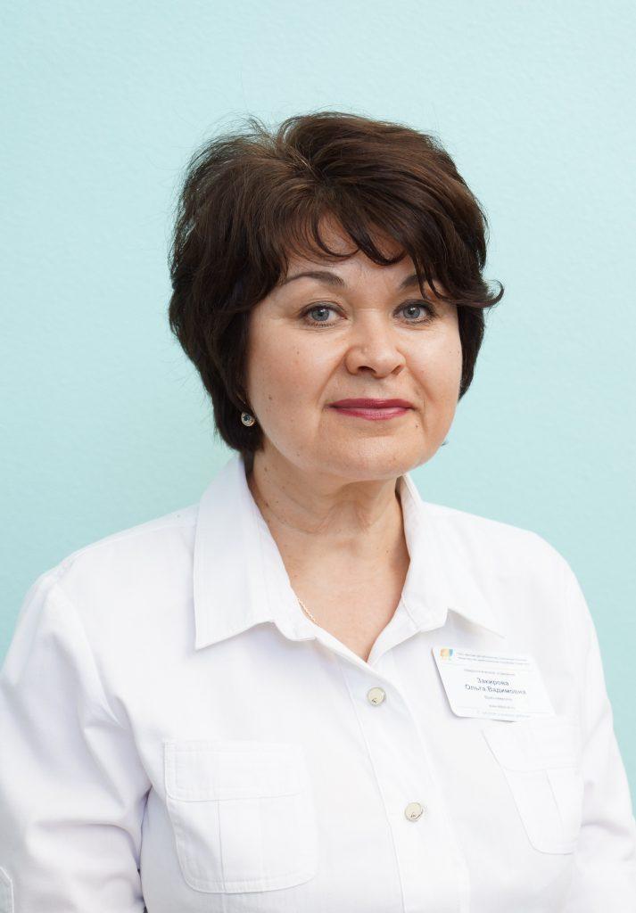Закирова Ольга Вадимовна