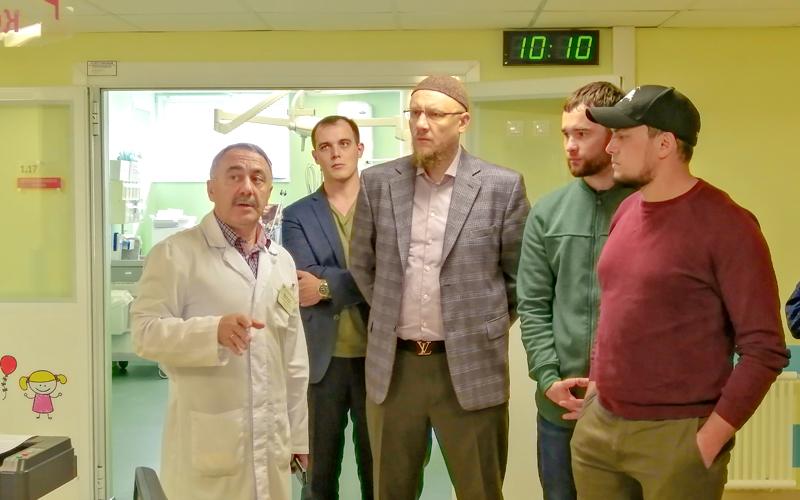 ДРКБ посетили представители ассоциации Предприниматели РТ