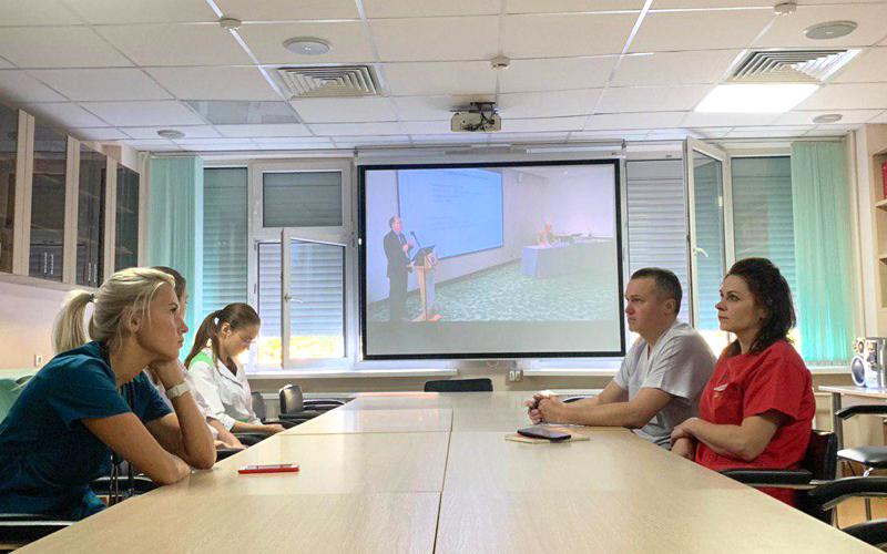 Специалисты ДРКБ приняли участие в онлайн-конференции