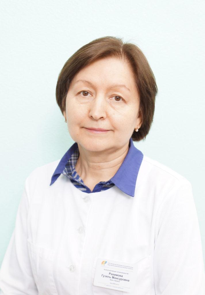 Рахимова Гузяль Мансуровна