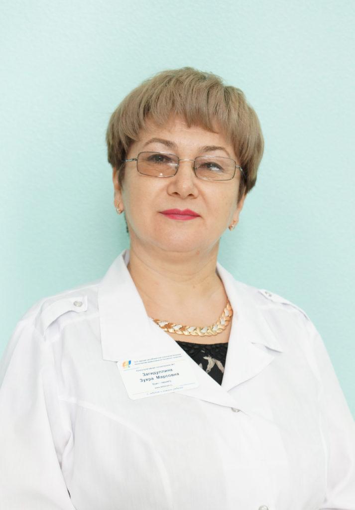 Загидуллина Зухра Марсовна