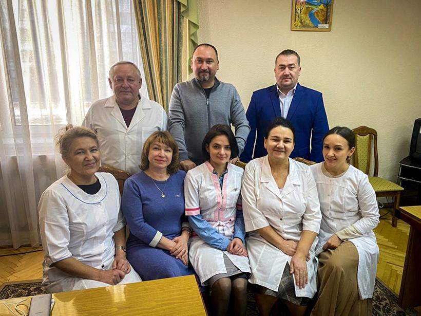 Руководители ДРКБ посетили детский реабилитационный санаторий
