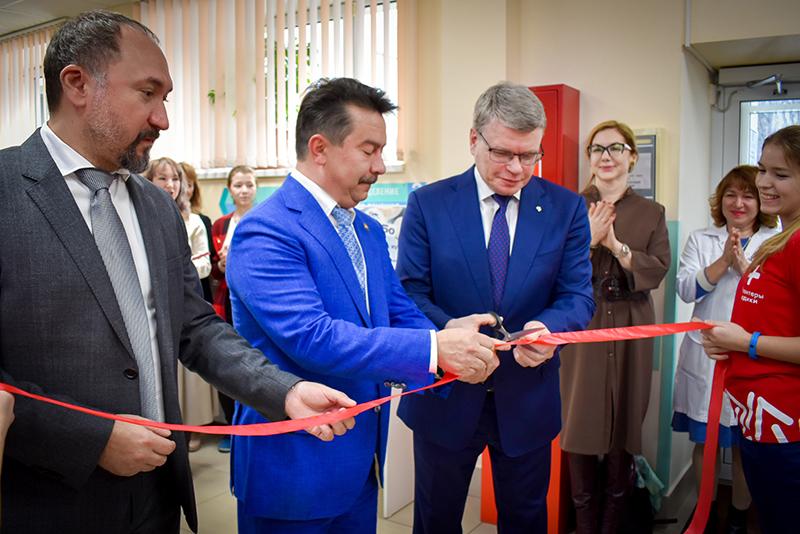 Состоялось торжественное открытие Центра детской липидологии Республики Татарстан