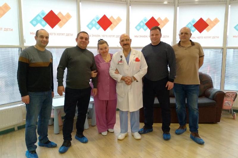Делегация ДРКБ посетила НПЦ специализированной медицинской помощи детям имени В.Ф. Войно-Ясенецкого