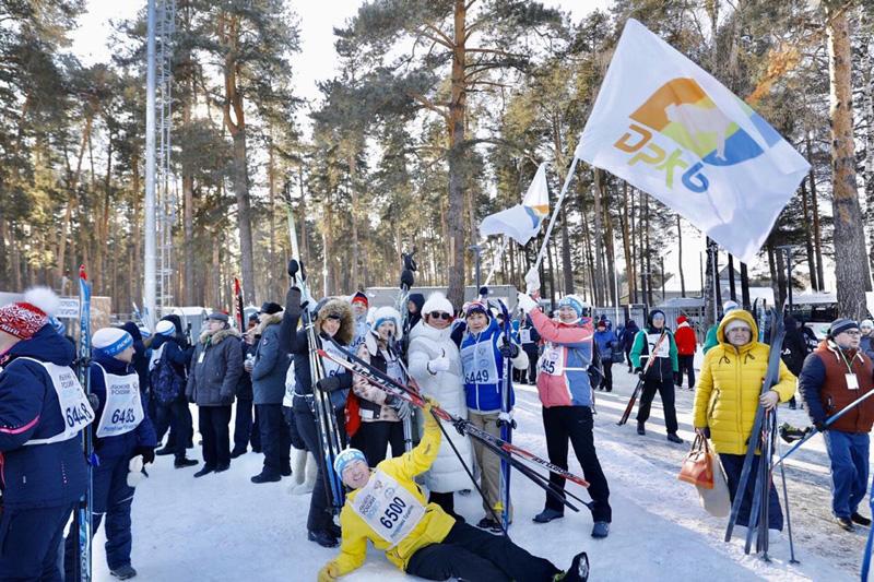 В Казани прошла Всероссийская массовая гонка «Лыжня России»
