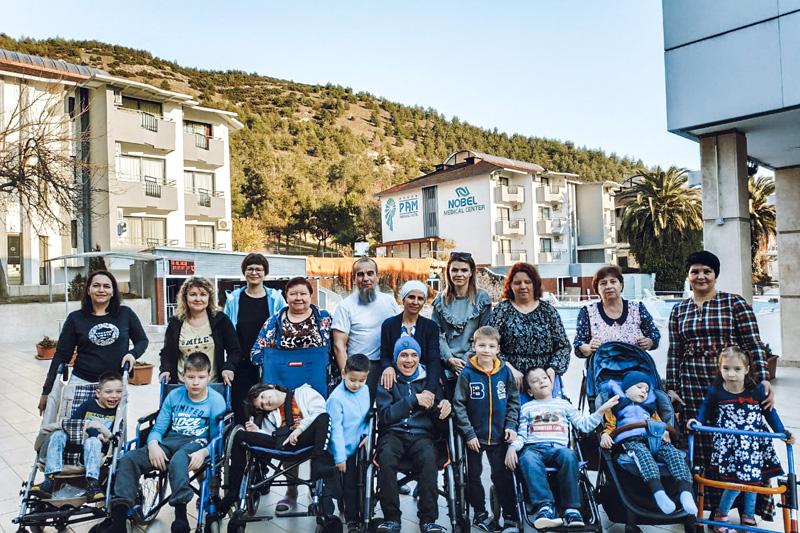 Реализация социального проекта по реабилитации детей с ДЦП