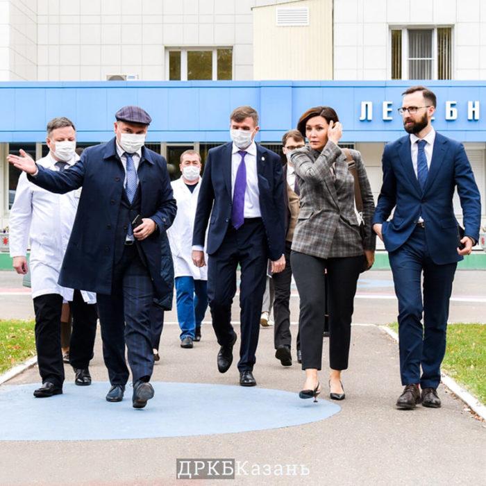 ДРКБ посетил руководитель агентства стратегических инициатив
