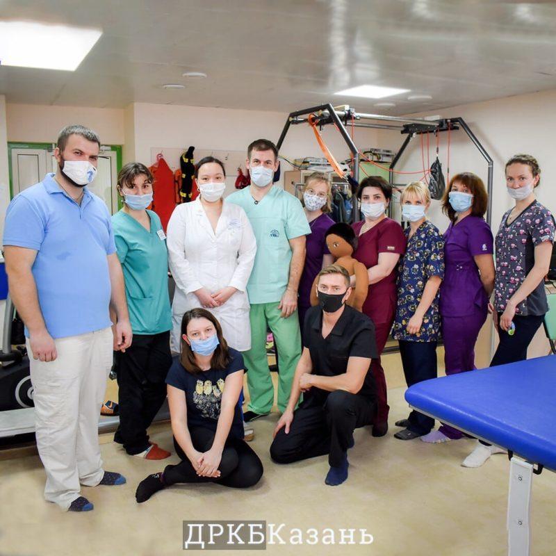 В ДРКБ прошёл мастер-класс Войта-терапии
