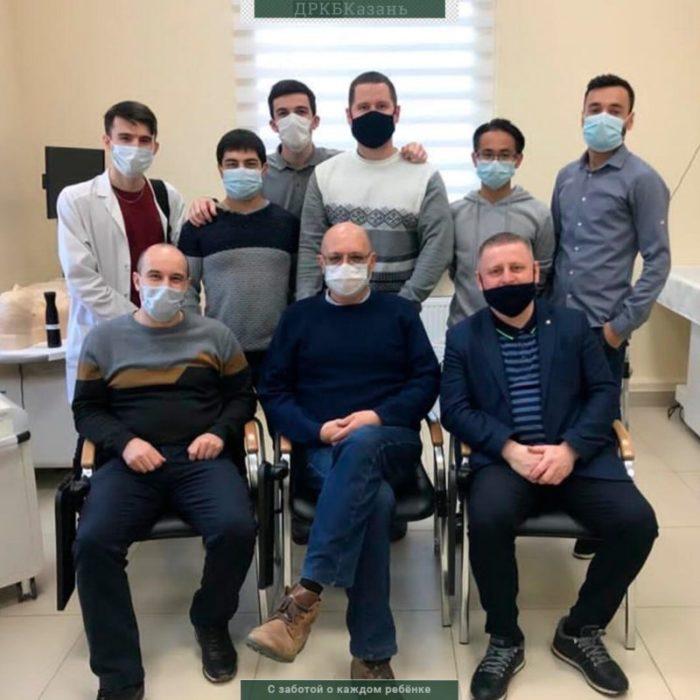 Завершилась первичная специализированная аккредитация выпускников-ординаторов по детской хирургии