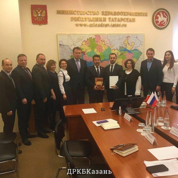 Рабочая группа из ФГАУ «НМИЦ здоровья детей» Минздрава России встретилась с министром здравоохранения Республики Татарстан.