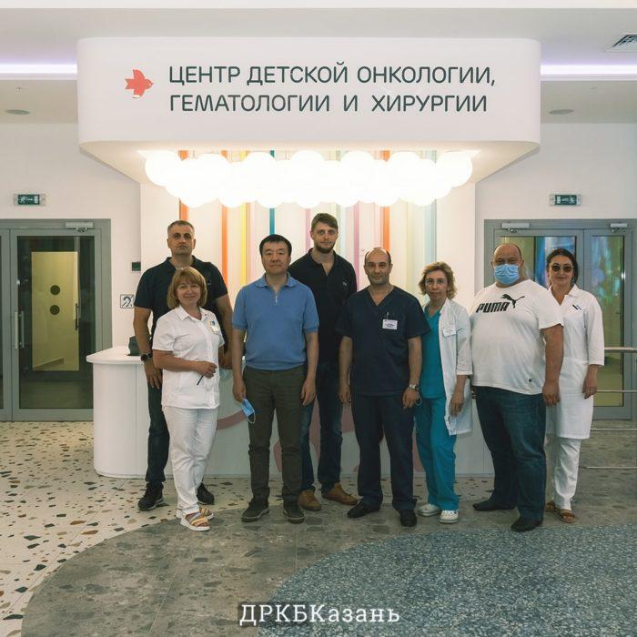 В ДРКБ стартовал мастер-класс для нейрохирургов