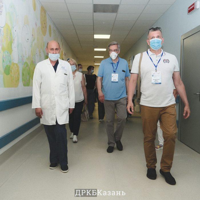 ДРКБ посетила делегация уполномоченных по правам человека в РФ